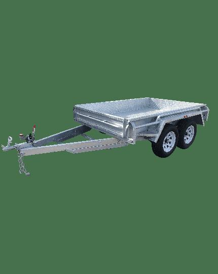 8x5 GALVANISED TANDEM BOX TRAILER - HEAVY DUTY - FULLY WELDED – JOCKEY WHEEL
