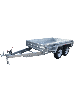 8x5 GALVANISED TANDEM BOX TRAILER - HEAVY DUTY - FULLY WELDED – JOCKEY WHEEL