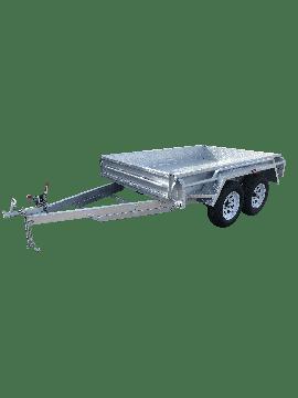 10x5 GALVANISED TANDEM BOX TRAILER - HEAVY DUTY - FULLY WELDED – JOCKEY WHEEL